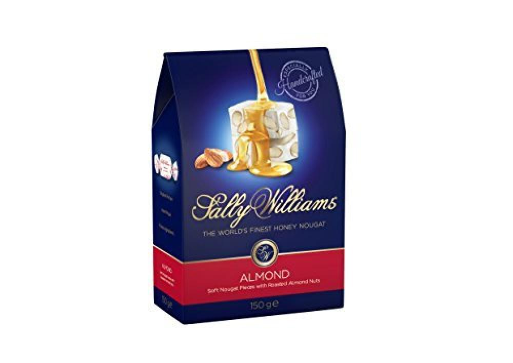 Sally Williams Soft Nougat Pieces With Roasted Almonds Nuts 150g