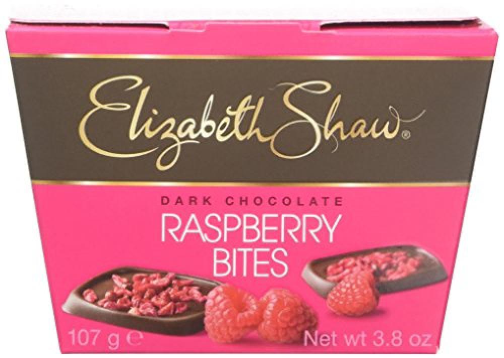 Elizabeth Shaw Raspberry Bites 107g