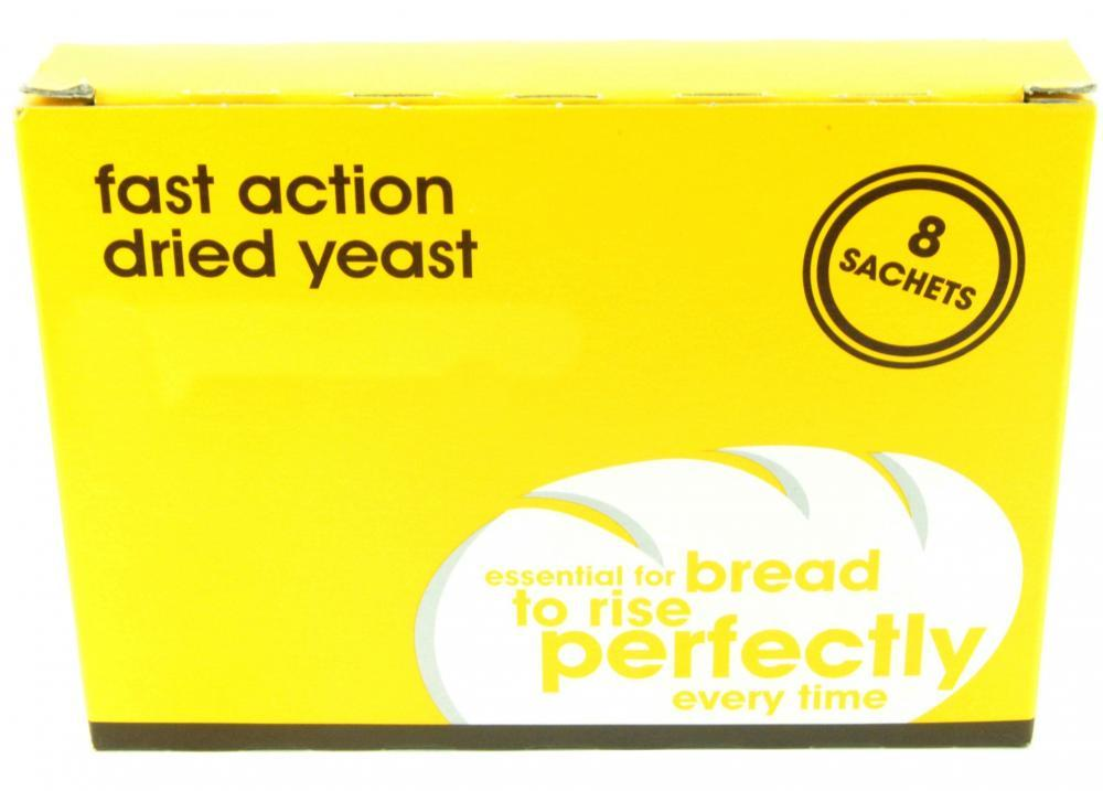 Perfectly Good Fast Action Dried Yeast 7g Pack of 8 Sachets