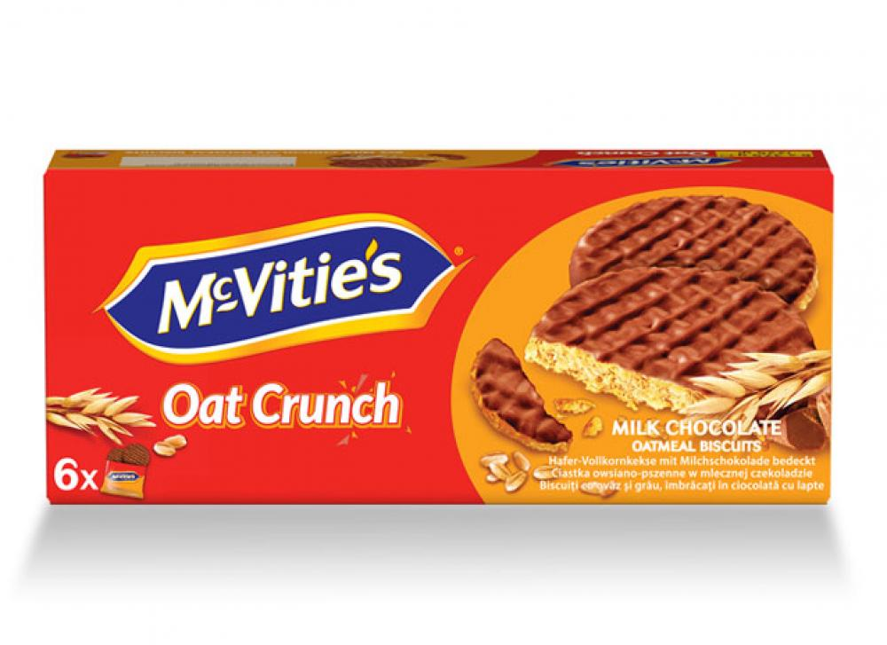 McVities Oat Crunch Milk Chocolate 225g