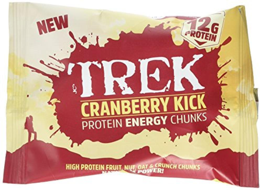 Trek Cranberry Kick Protein Energy Chunks 60g