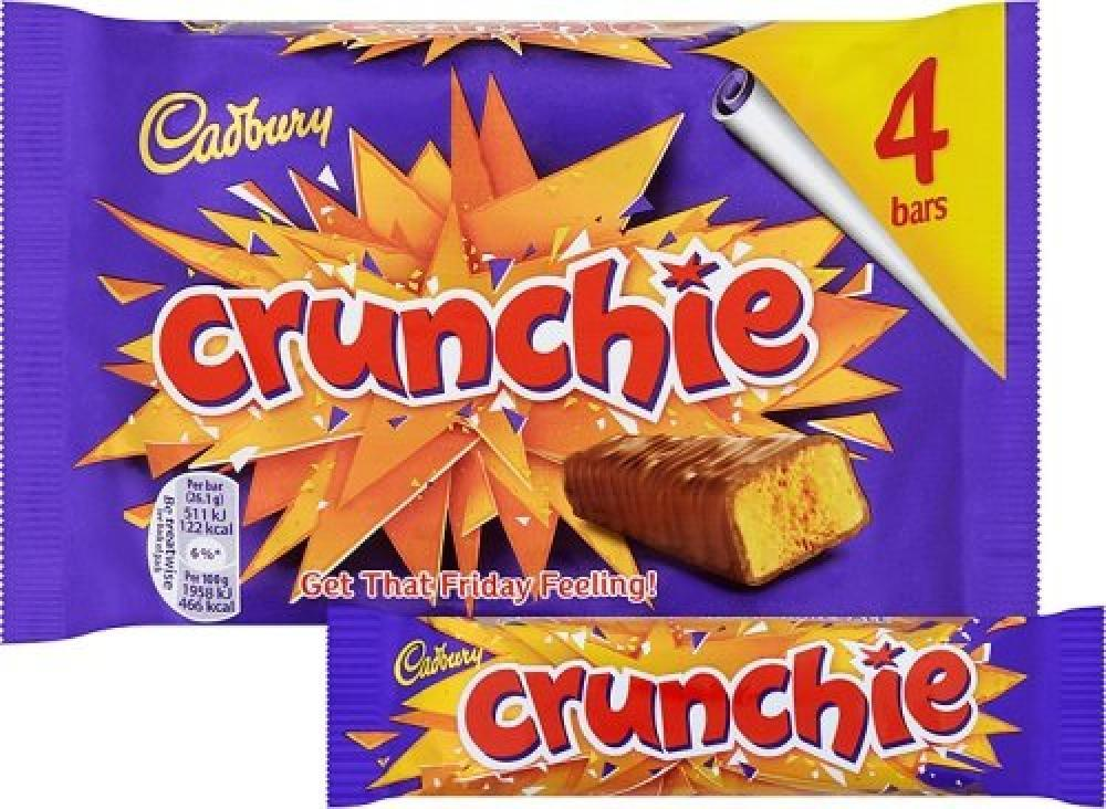 Cadbury Crunchie 26.1g x 4