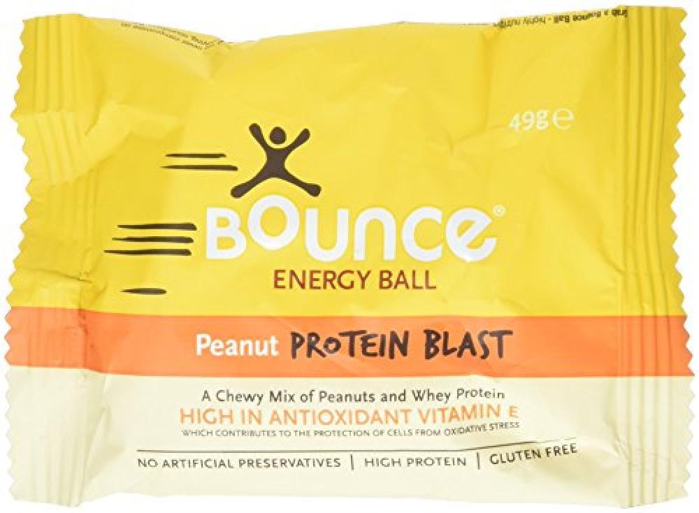 Bounce Energy Protein Ball Peanut Flavour 49g