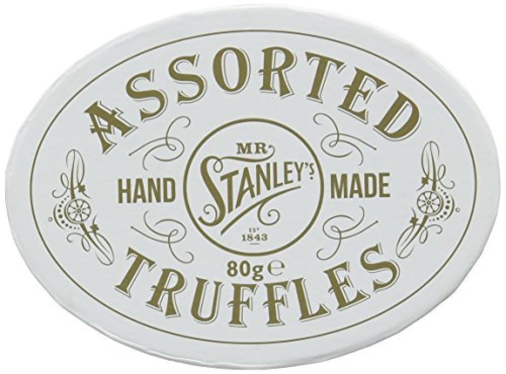 Mr Stanleys Hand Made Assorted Truffles 80g
