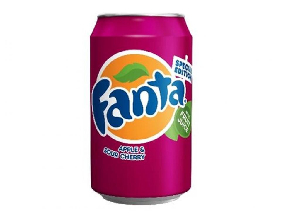 Fanta Apple and Sour Cherry 330ml