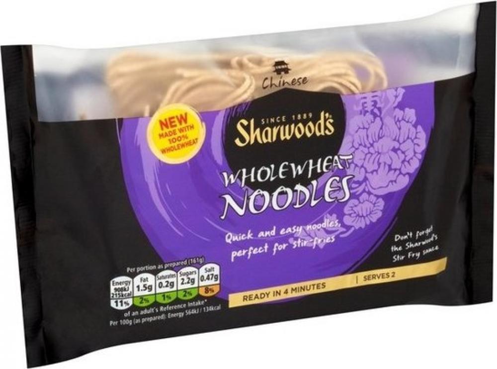 Sharwoods Wholewheat Noodles 125g