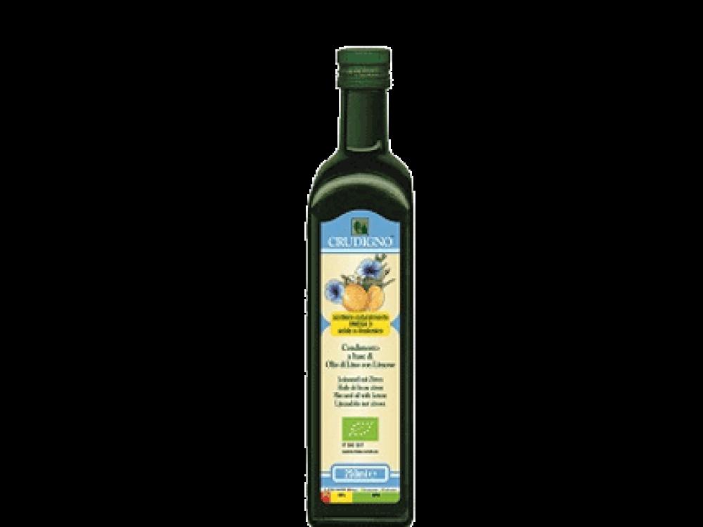 Crudigno Flax Seed Oil with Lemon 250ml