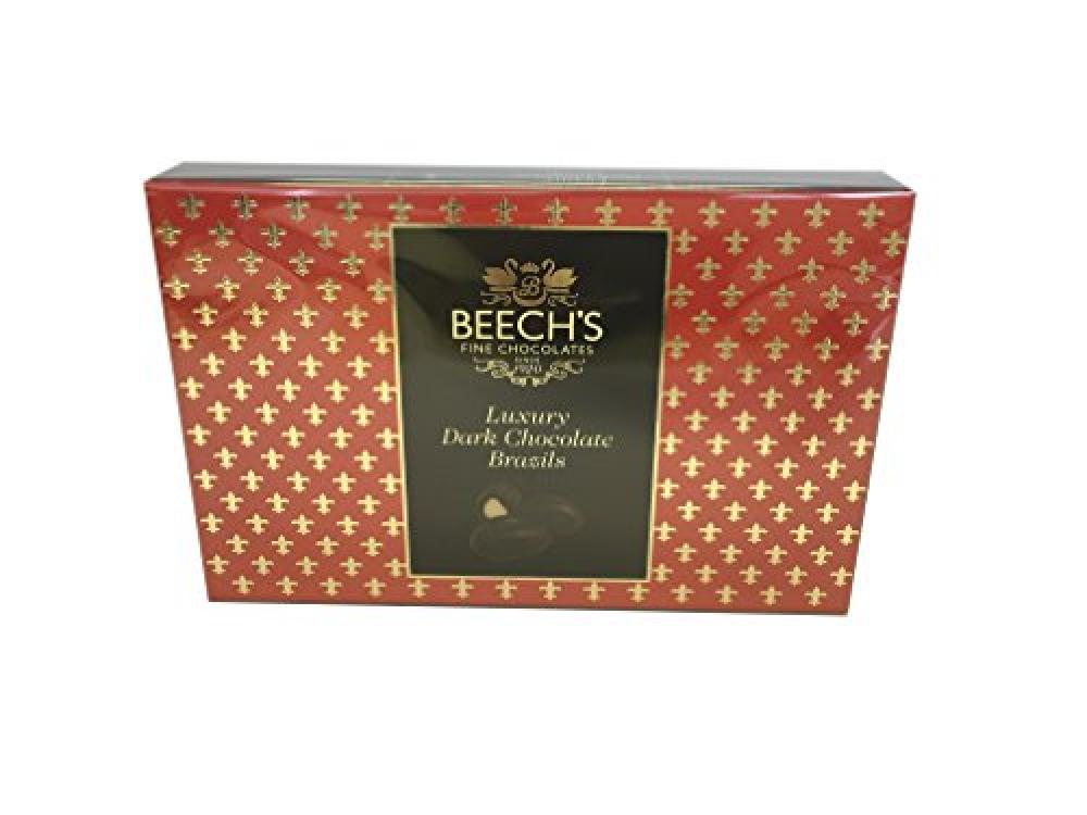 Beechs Fine Chocolate Dark Chocolate Brazils 145g