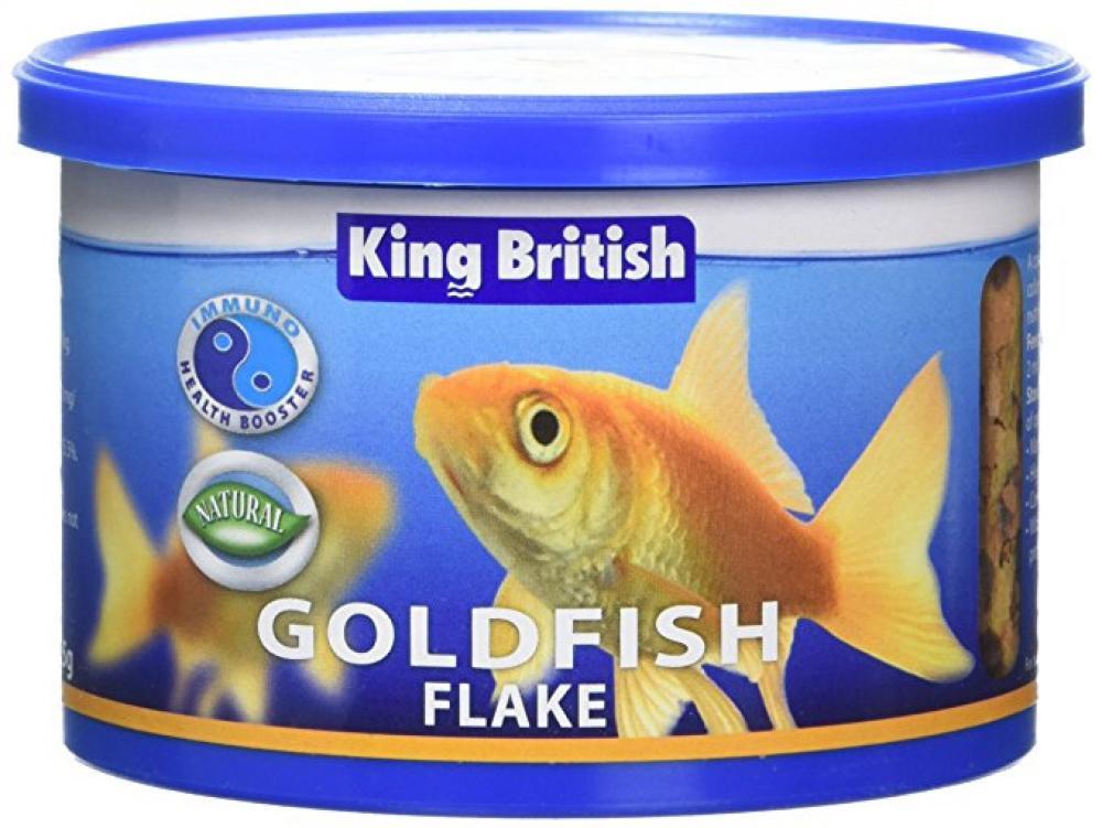 King British Goldfish Flake Food 55g