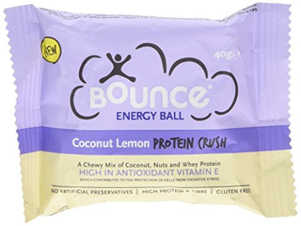 Bounce Lemon Protein Crush Energy Ball 40 g