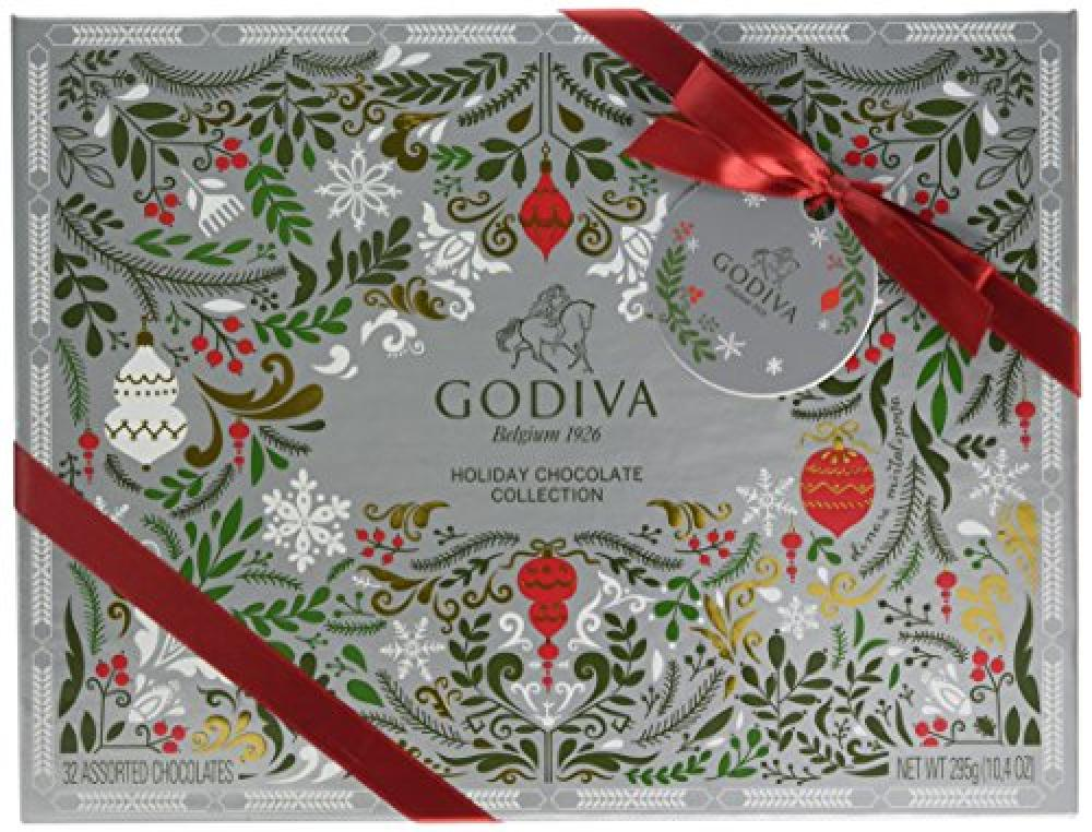 FURTHER REDUCTION  Godiva  Christmas 2016 Gift Box 32 Pieces