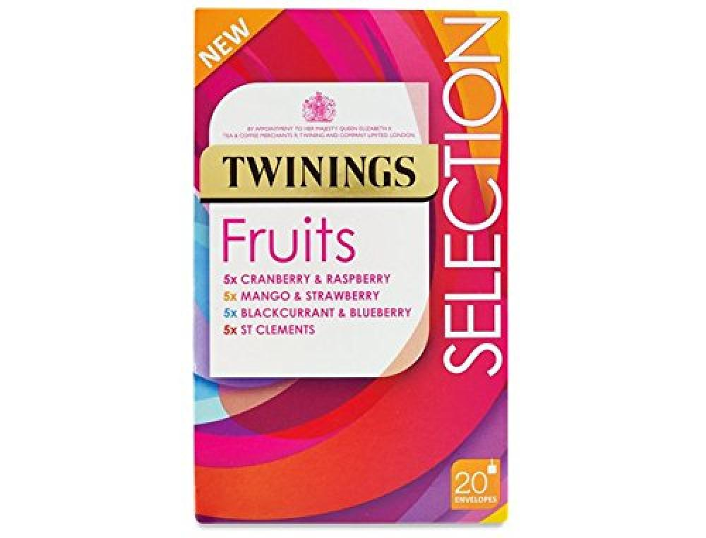 Twinings Mixed Berry Selection 20 Envelope