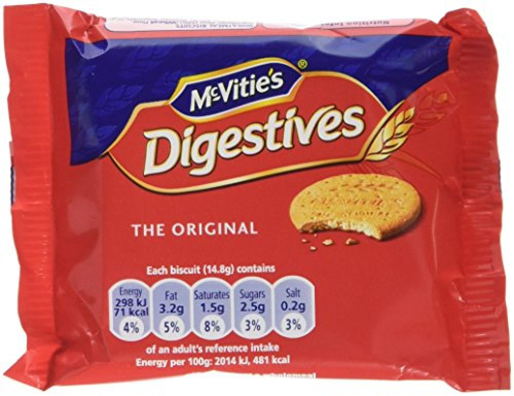 McVities Digestives Portion Packs 29g
