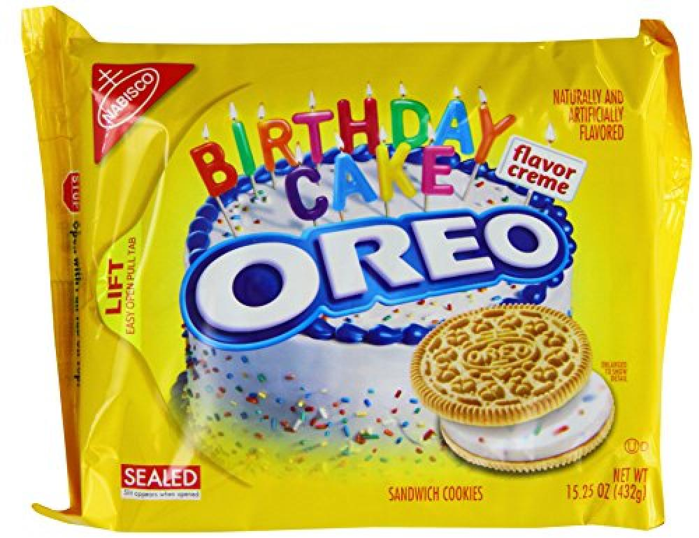 Oreo Golden Birthday Cake Creme 432g