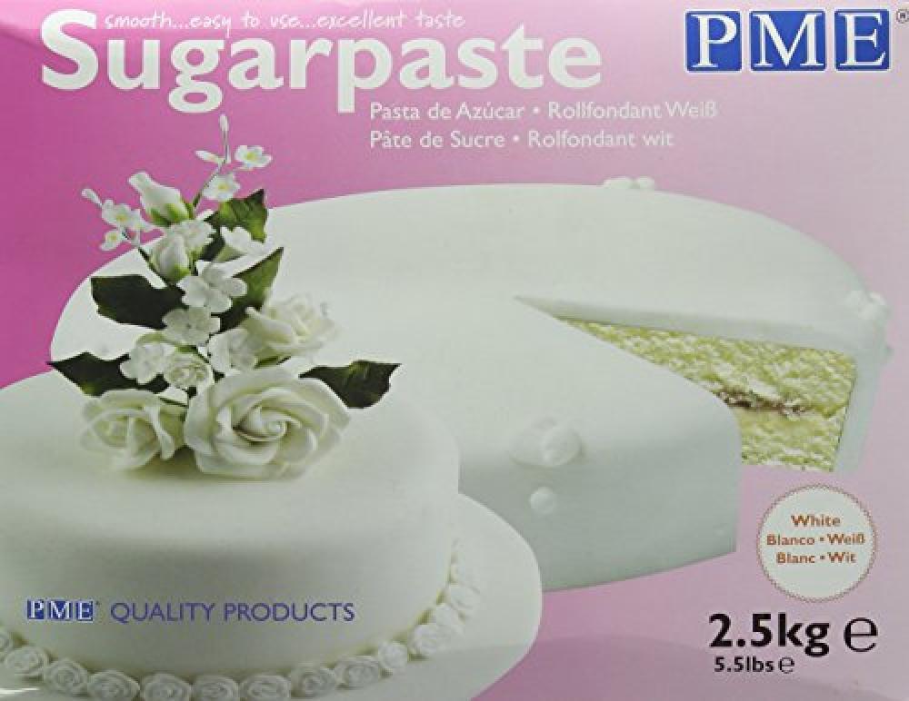 PME Ready to Use Sugarpaste White 2500g