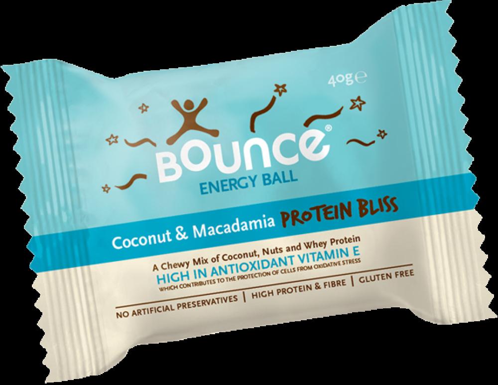 Bounce Coconut and Macadamia Ball 40g