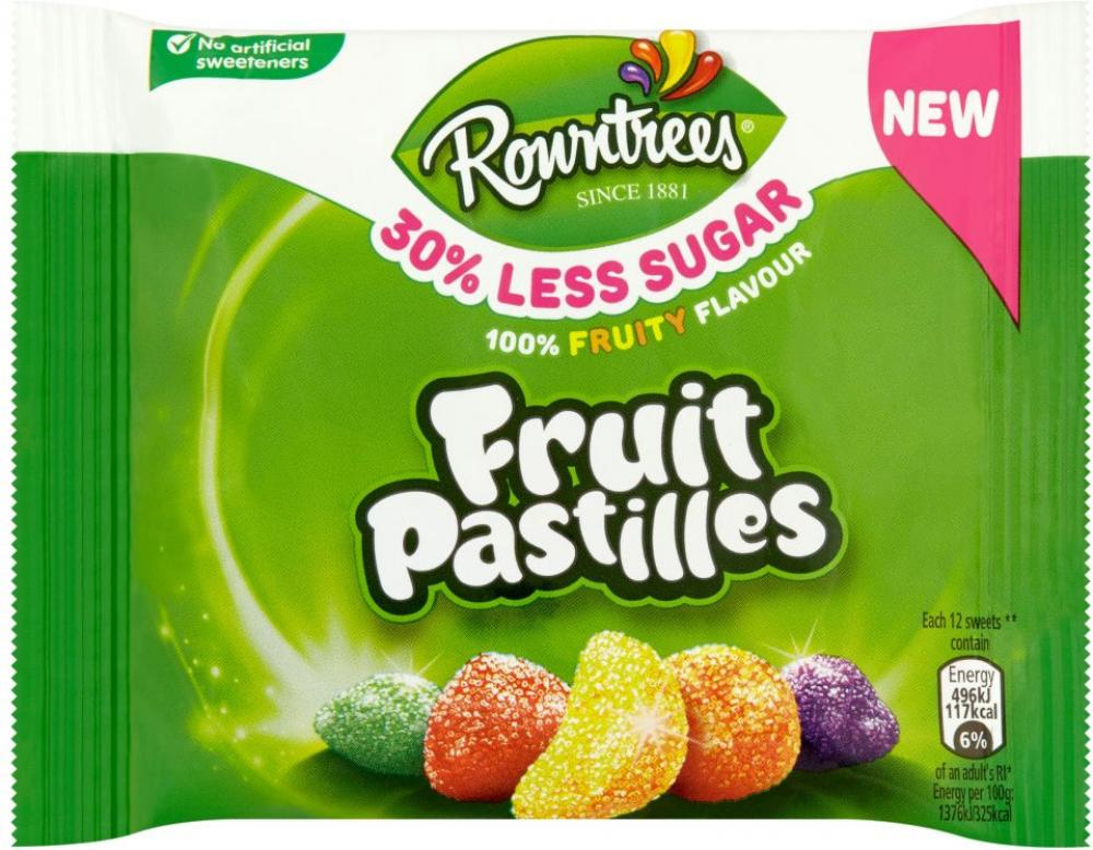 Rowntrees Fruit Pastilles 38g