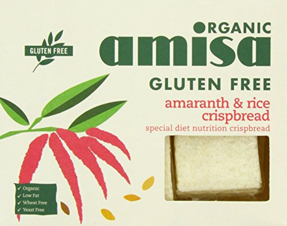 Organic Amisa Amaranth and Rice Crispbread