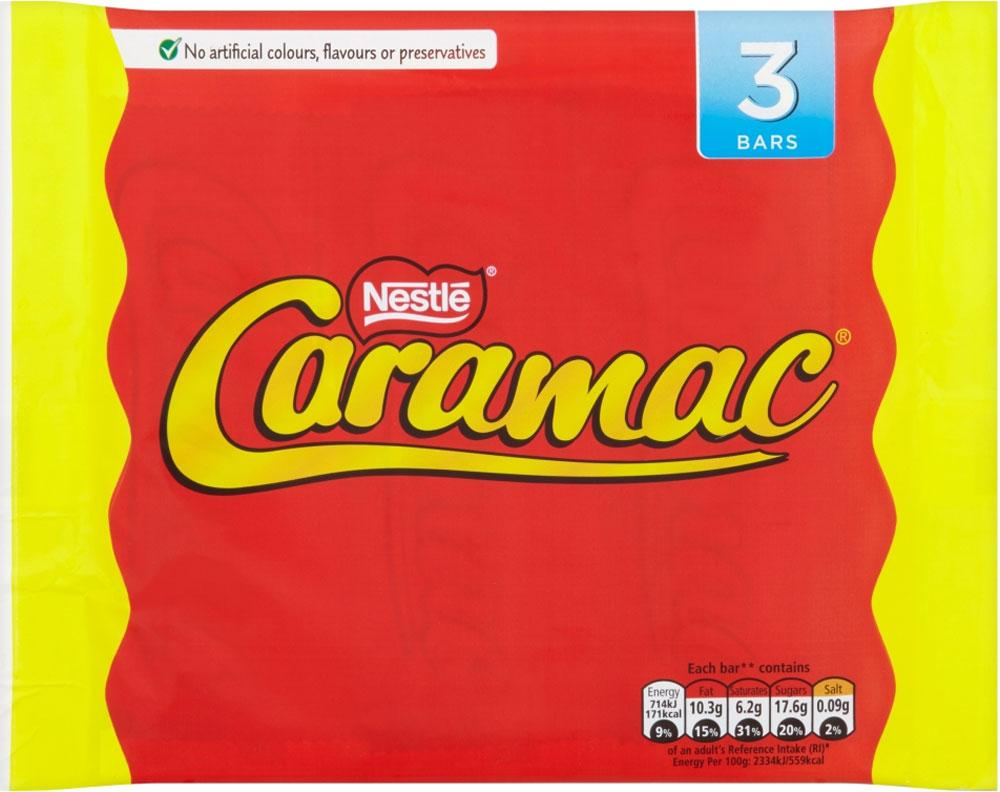 Nestle Caramac 30g x 3