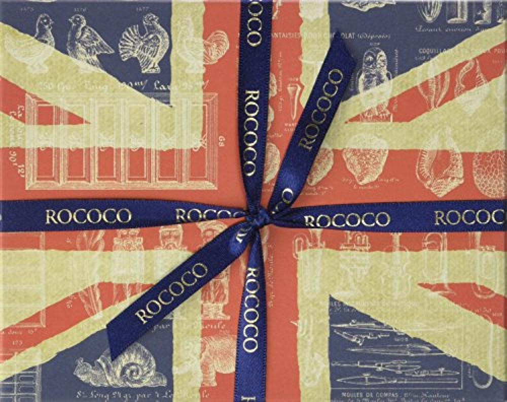 Rococo Chocolates Small Union Jack Selection Box 110 g