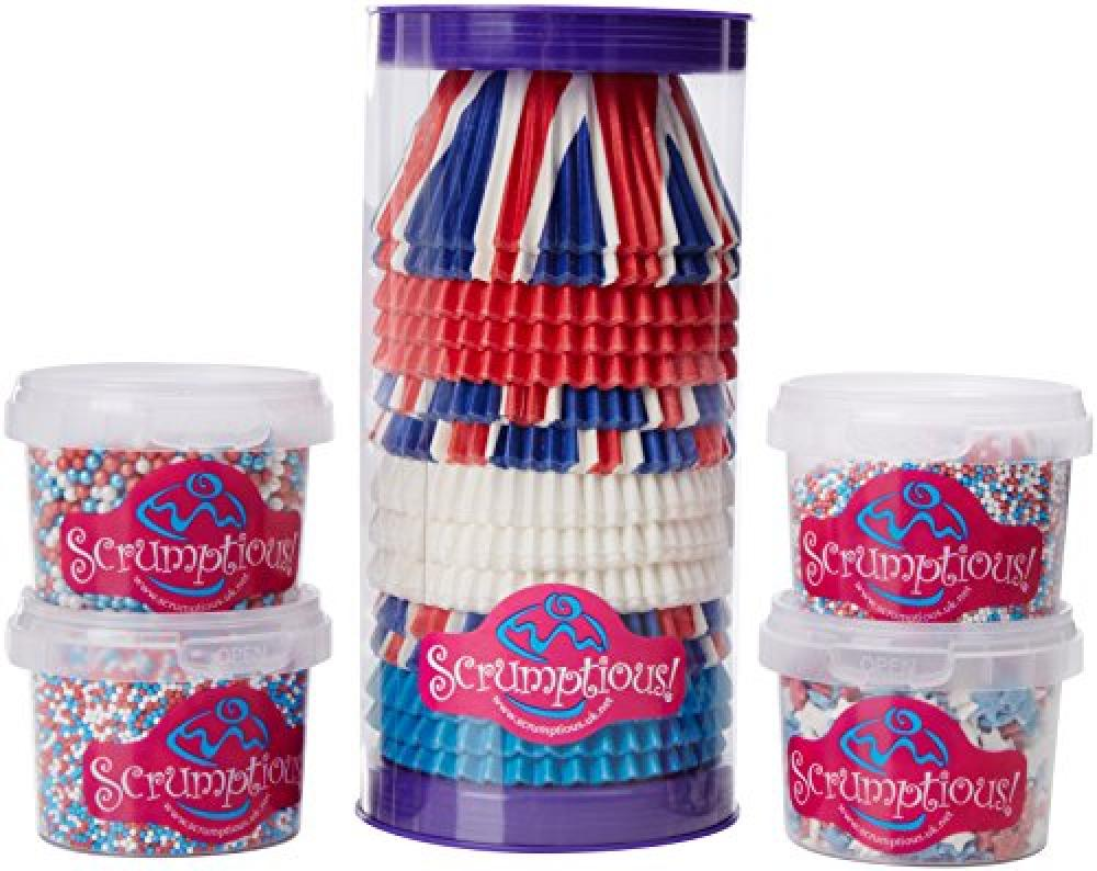 Scrumptious Sprinkles Bumper Olympic RedWhite and Blue Pack