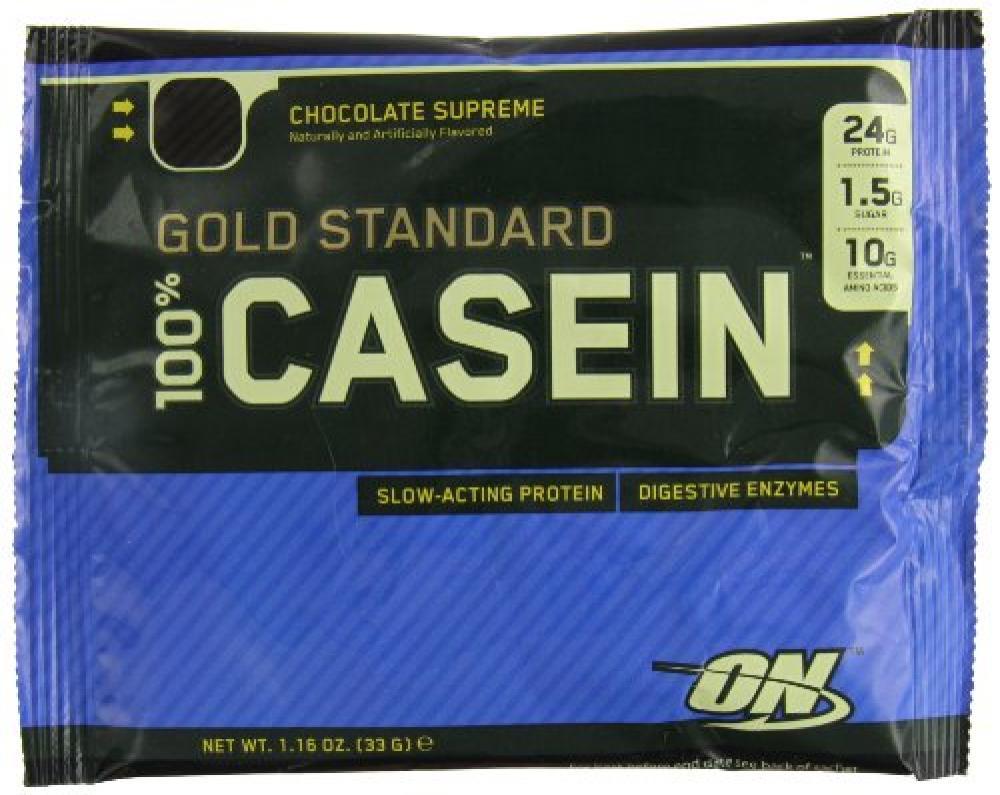 Optimum Nutrition Gold Standard Casein Powder - Chocolate Supreme 33g