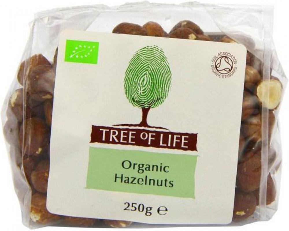 Tree Of Life Organic Hazelnuts 250g 250g