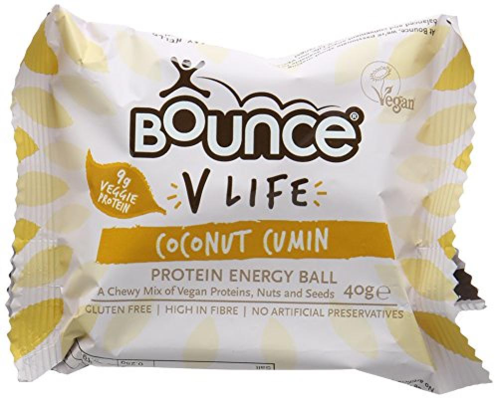 Bounce V Life Protein Energy Ball - Coconut Cumin 40g