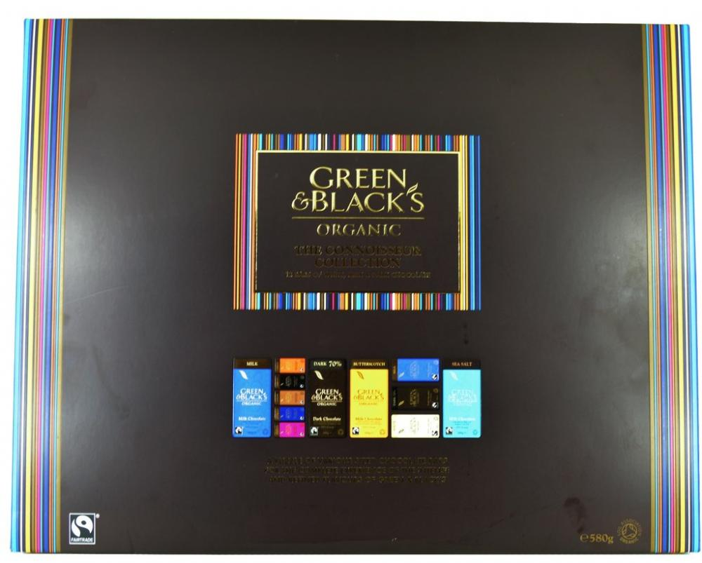 Green and Blacks Organic The Connoisseur Collection 580g 580g