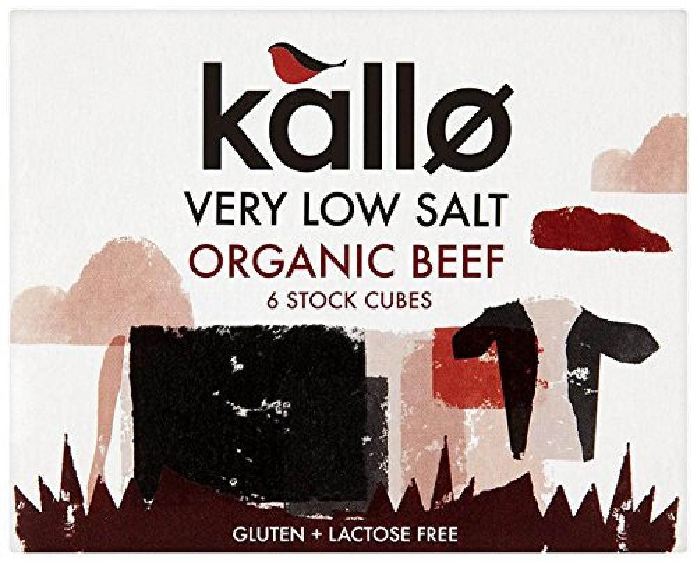 Buy organic beef - Kallo Organic Beef Stock Cube 48g