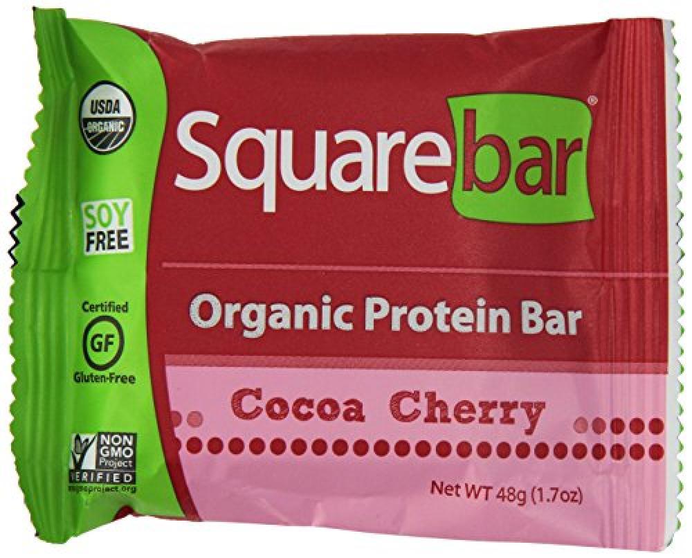 Squarebar Cocoa Cherry Protein Bar 48 g
