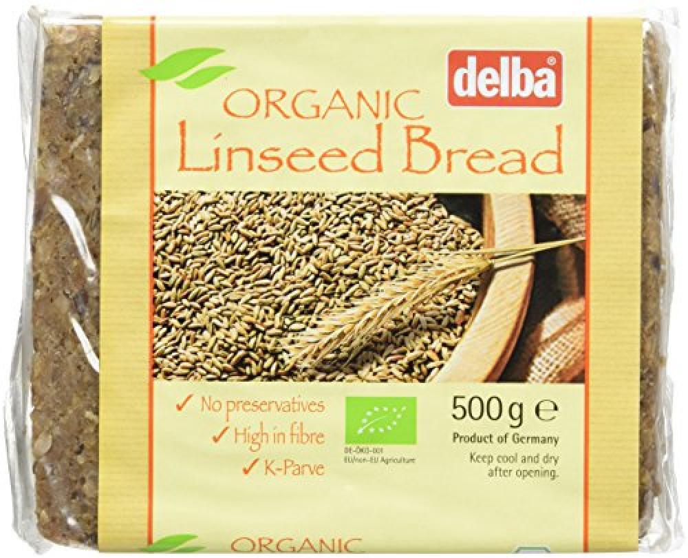Delba Organic Linseed Bread