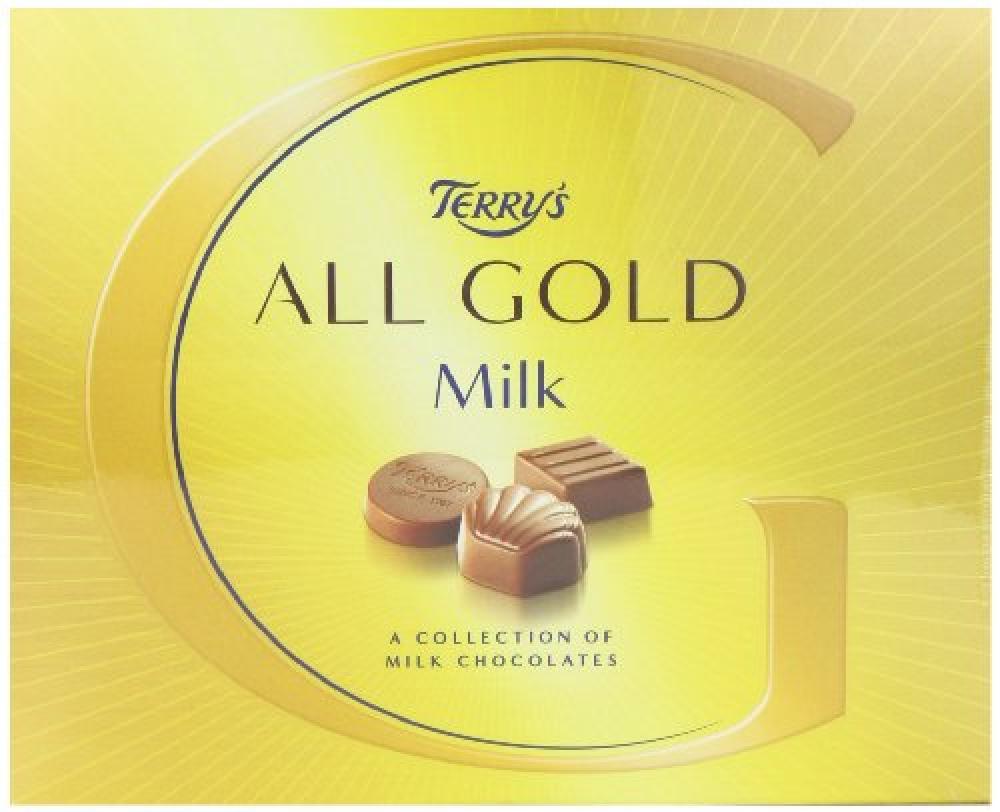 Kraft Terrys All Gold Milk Chocolate 380 g