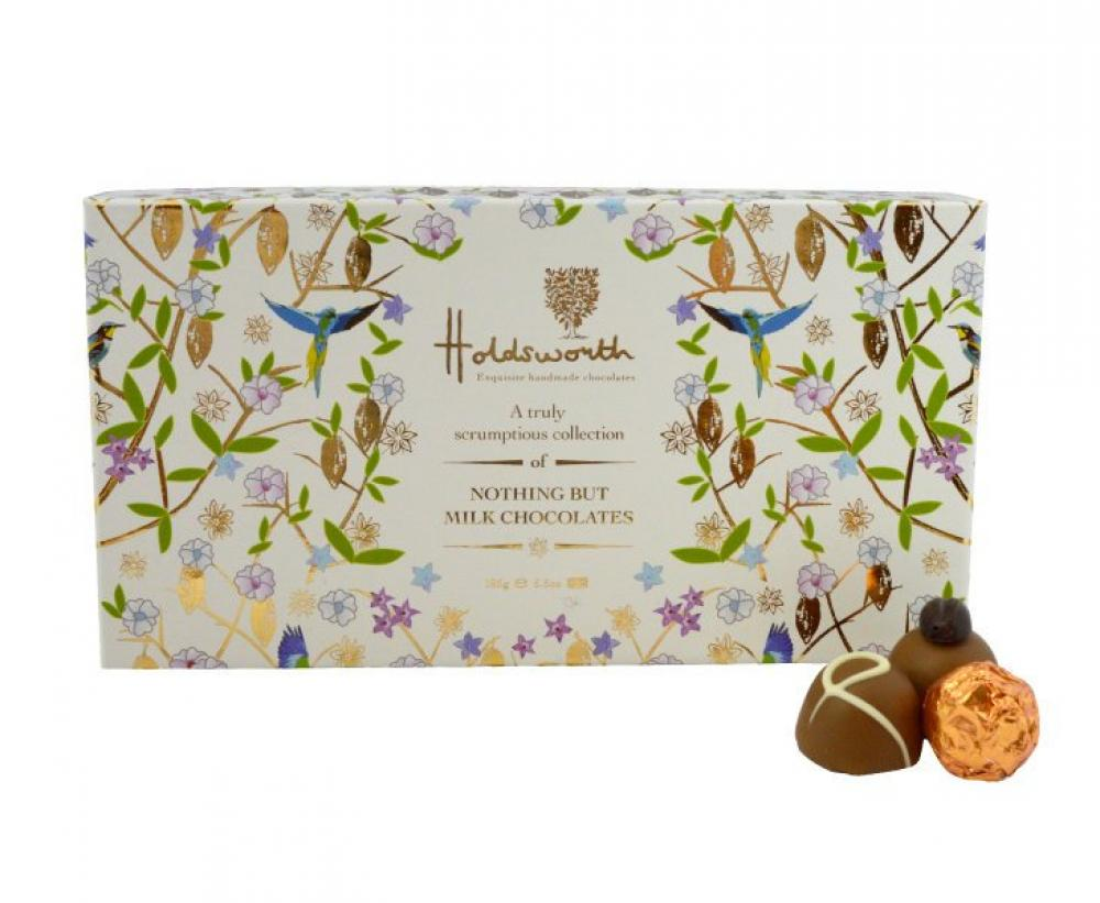 Holdsworth Chocolates Nothing But Milk Chocolate Collection 185g