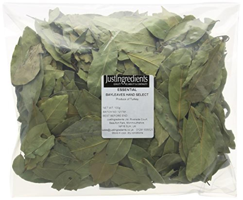 JustIngredients Essential Bay Leaves Hand Selected Loose 100 g