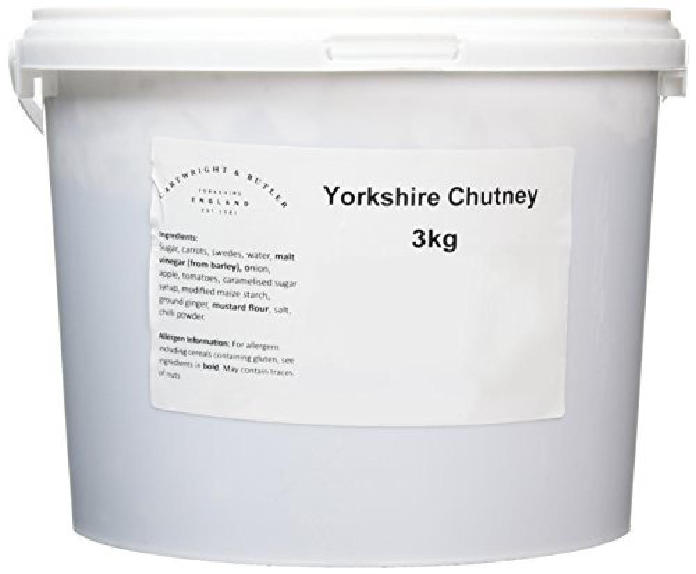 Casa Lucena Yorkshire Chutney in Tub 3 kg