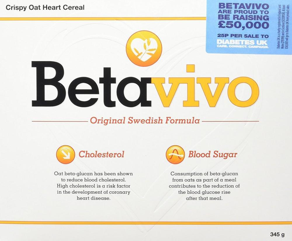 Betavivo Crispy Oat Hearts 23 g