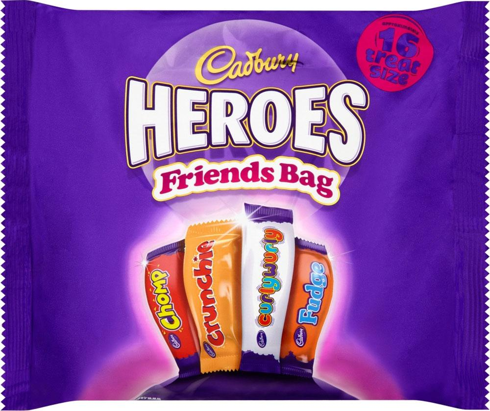 Cadbury Heroes Friends Bag 16 Treat Size 225g