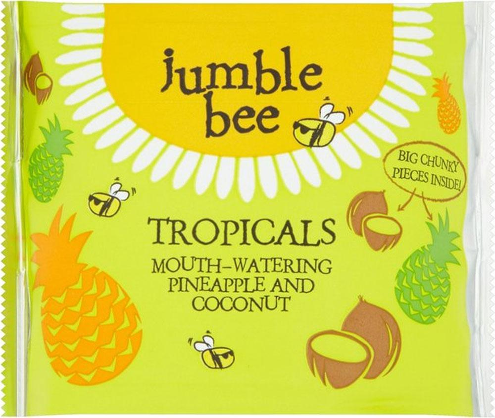 Jumble Bee Mouthwatering Pineapple and Coconut 100g