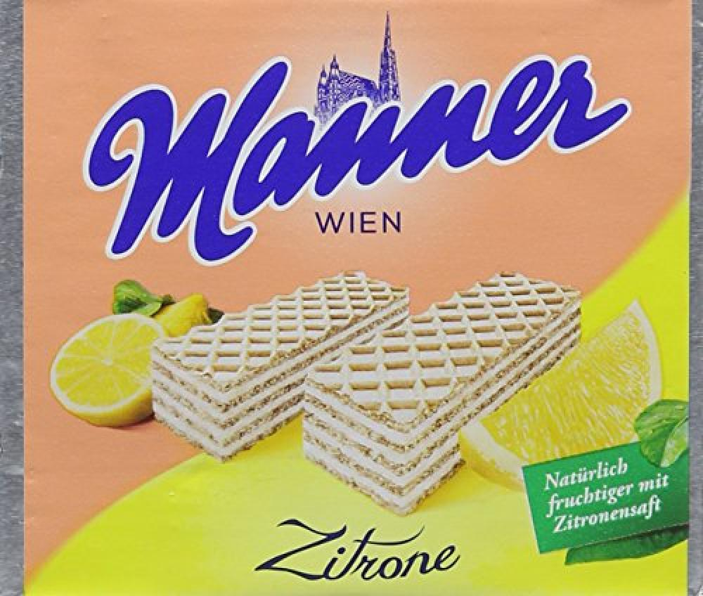 Manner Lemon Wafers 75 g