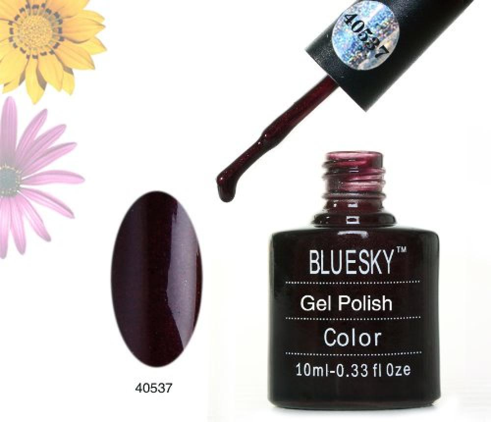 Bluesky 40537 UV LED Soak Off Nail Polish Gel Lava Red 10 ml