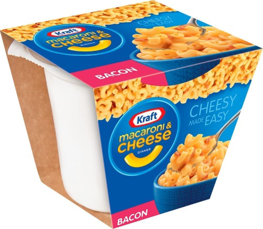 Kraft Macaroni and Cheese with Bacon 330g 330g