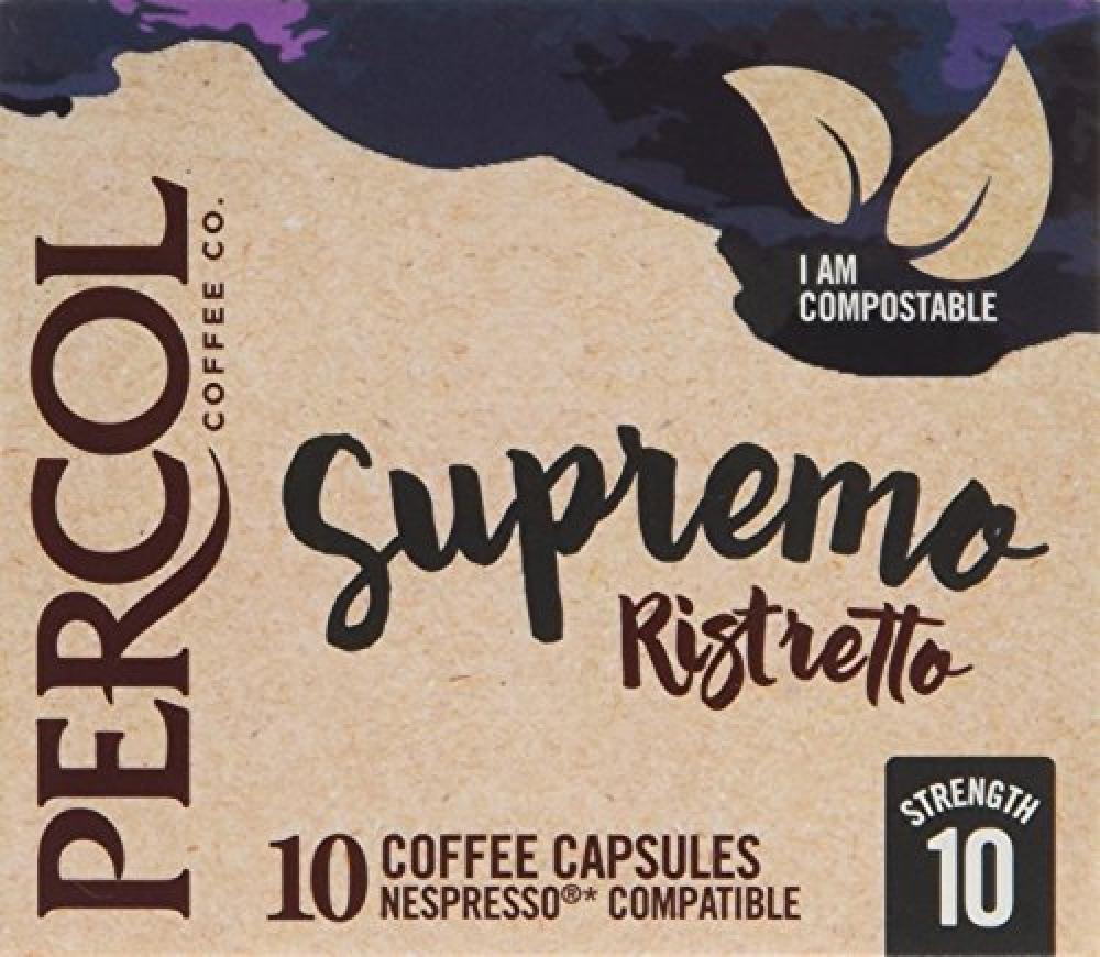 Percol Supremo Ristretto 10 Coffee Capsules