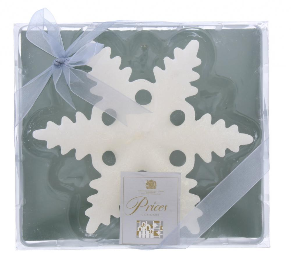 Prices Floating Snowflake Candle