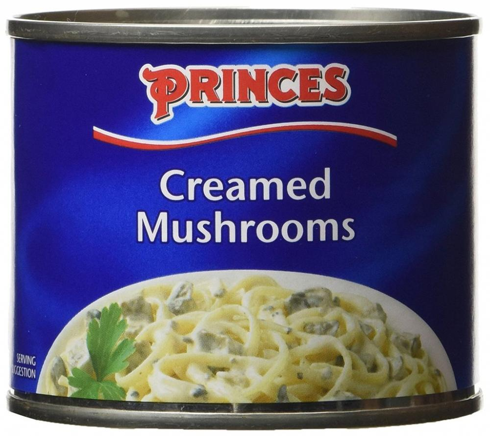 Princes Creamed Mushrooms 200g
