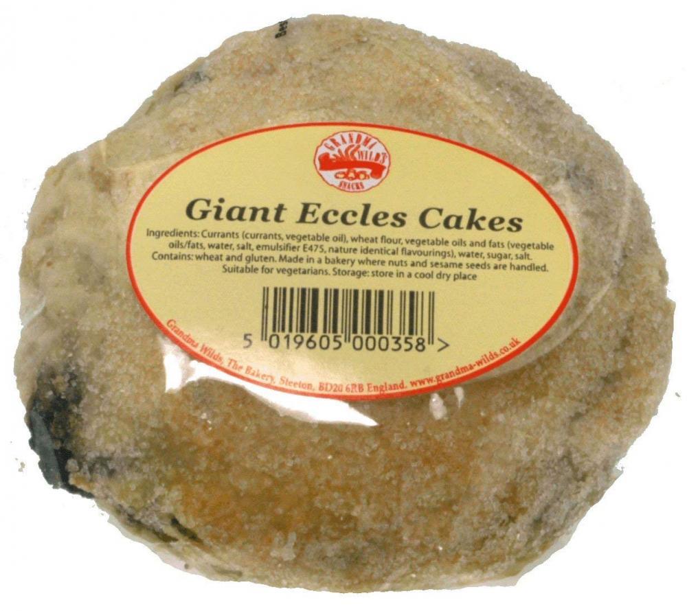 Grandma Wilds Giant Eccles Cake 100g