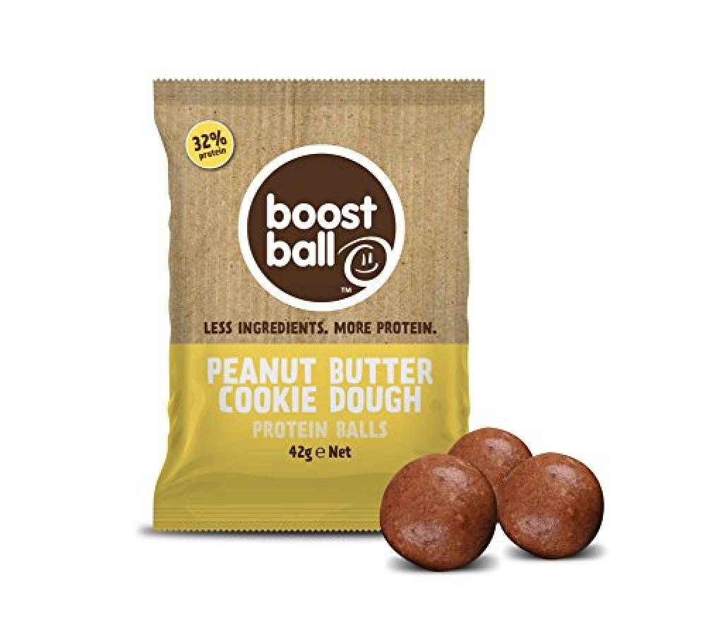 Boostball Peanut Butter Cookie Dough Protein Boost balls 42g