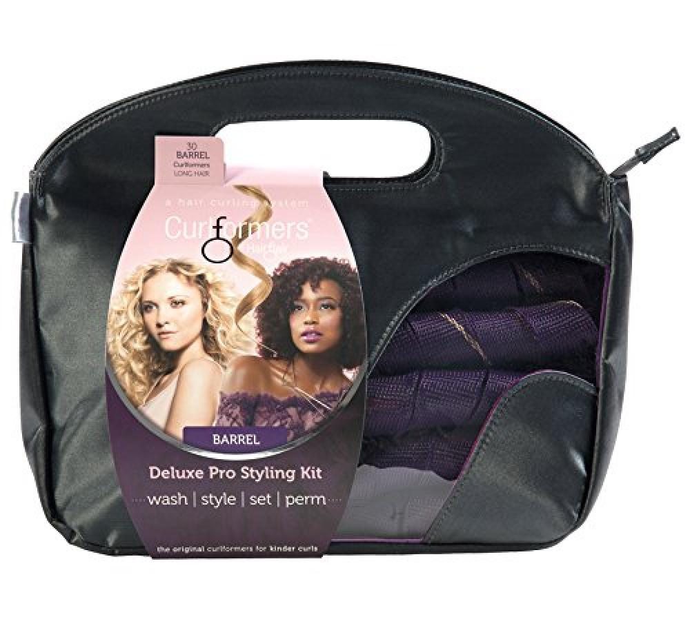 Flair Hair Curlformers Deluxe Range Styling Kit Barrel Curls for Long Hair