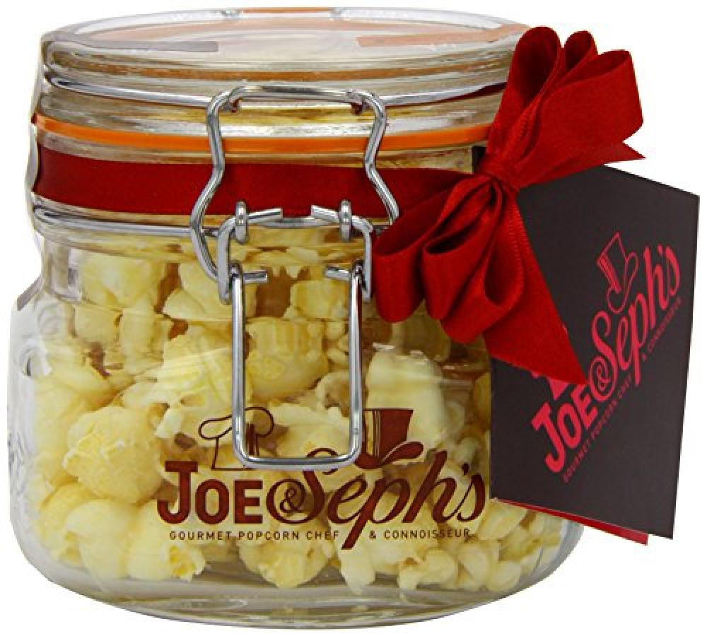 Joe and Sephs Kilner Jar of Camembert Cheese Popcorn