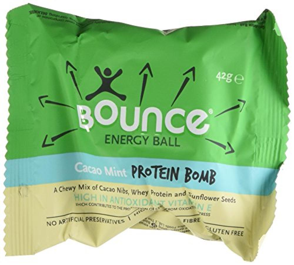 Bounce Cacao Mint Protein Bomb Energy Ball 42g